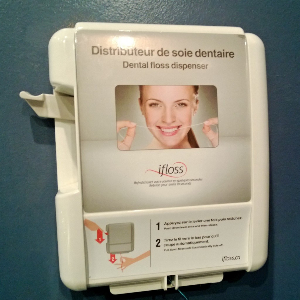 Bathroom Dental Floss